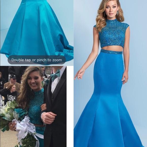 Dresses | Teal Prom Dress From Henri